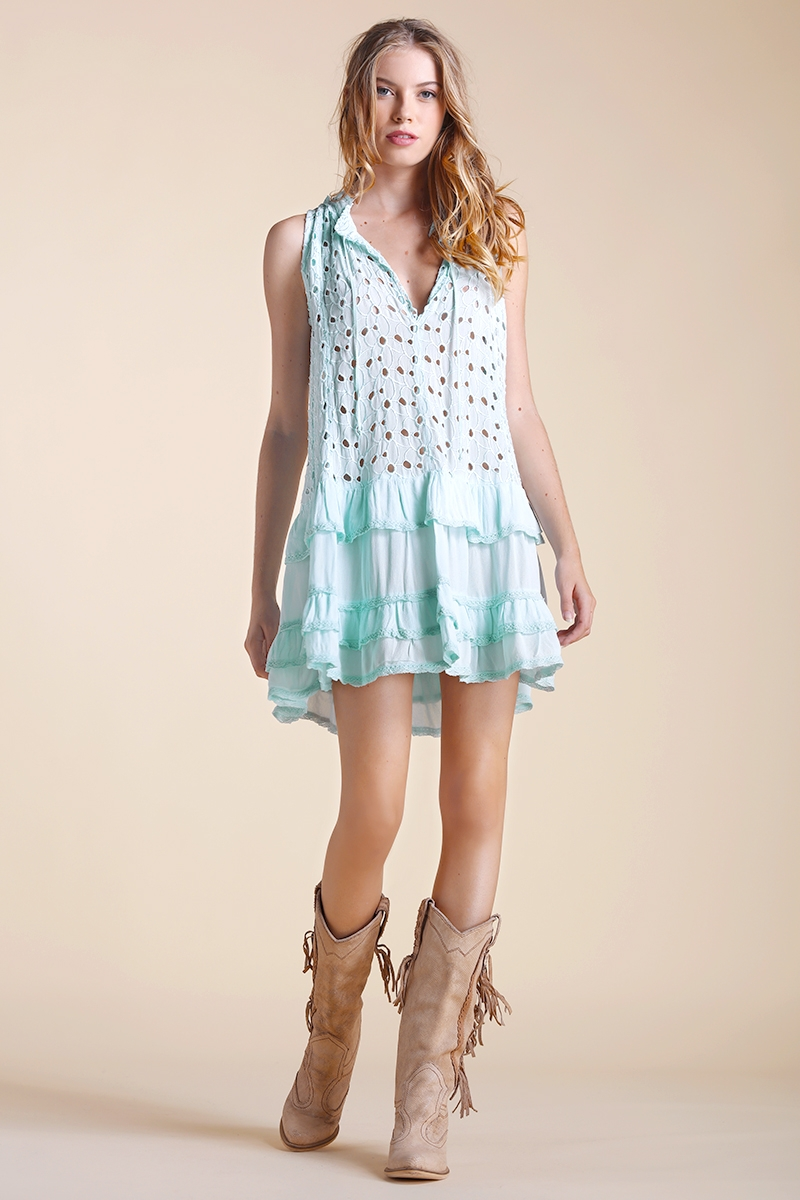 Maeva - Dress - Mint