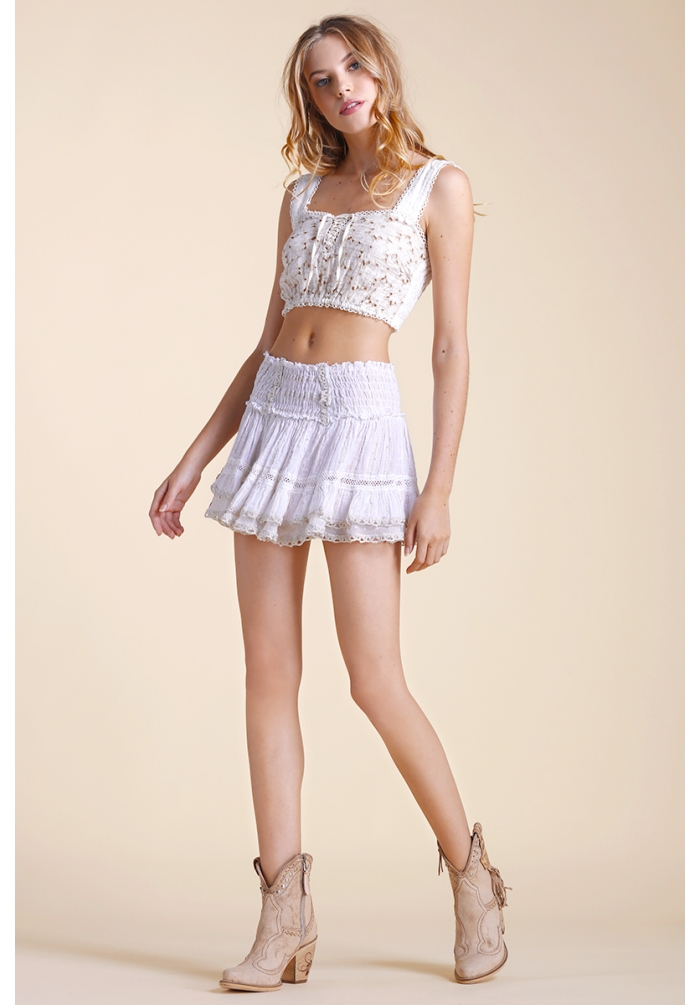 Zolita - Skirt - White