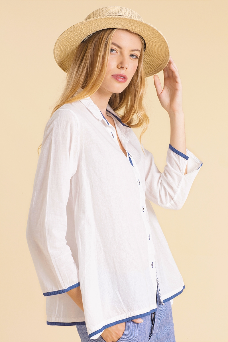 Flamand - Shirt - White