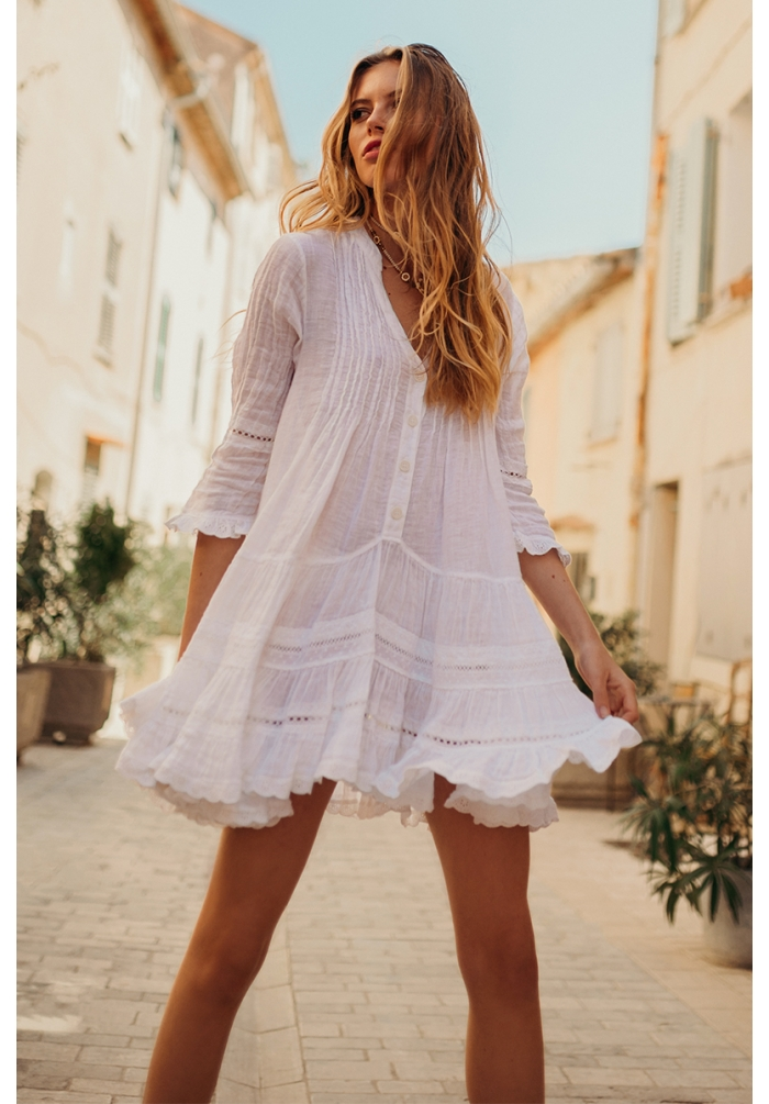 Bella Ciao - Dress - White